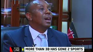 PS Kaberia talk about the state of Kenyan sports and wrangles in sport's ministry and FKF