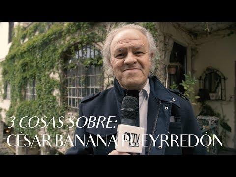 César Banana Pueyrredón video #3CosasSobre - CMTV Octubre 2017