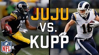 JuJu Smith-Schuster vs. Cooper Kupp: One Fact Why Kupp is Better Than JuJu | NFL Highlights