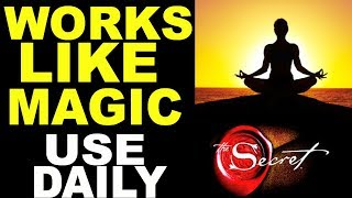 Law of Attraction Morning Meditation that Works Like MAGIC (LISTEN TO EVERY MORNING)