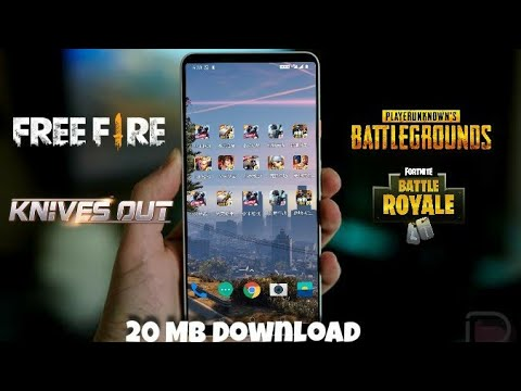 [20 MB] DOWNLOAD All your favorite Battleground game for Android for free