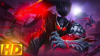 HAYABUSA - SHADOW OF OBSCURITY (HD) | MOBILE LEGENDS EPIC SKIN | MOBILE LEGENDS SKIN ANIMATION