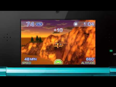 Видео № 0 из игры Pilotwings Resort 3D (Б/У) [3DS]