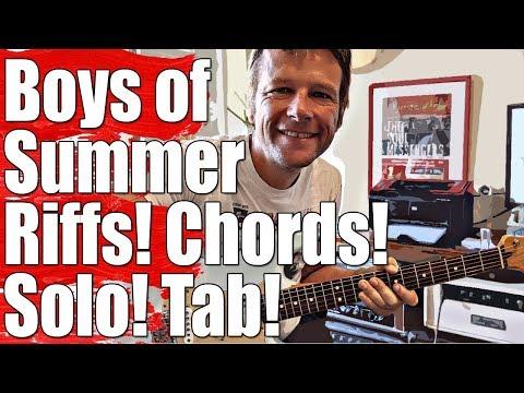 Boys of Summer : Don Henley : Guitar Lesson #363