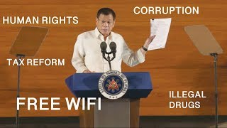 HIGHLIGHTS: Pres Duterte SONA 2018