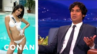 Kunal Nayyar's Tips On Being Married To Miss India - CONAN on TBS