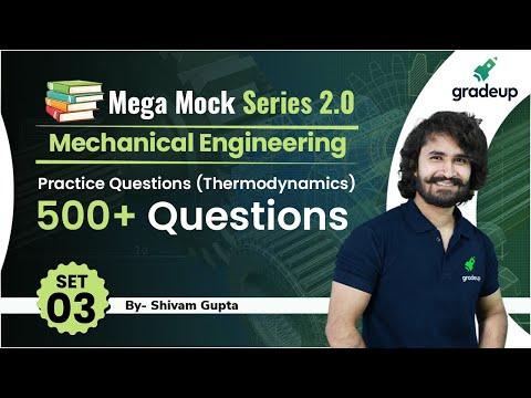 Mega Mock Series 2.0 | Thermodynamics Practice Questions | 500+ ...