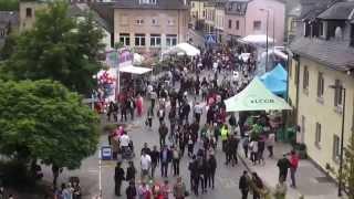 preview picture of video 'Fatima lockt tausende Pilger nach Wiltz - Luxemburg - Ösling - Muttergottes - Maria - Woolz'