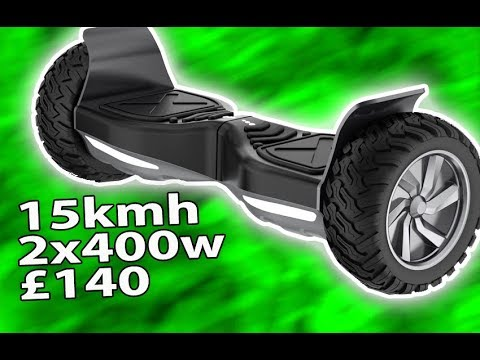 CHEAP OFF-ROAD HOVERBOARD UNBOXING AND REVIEW balance board scooter