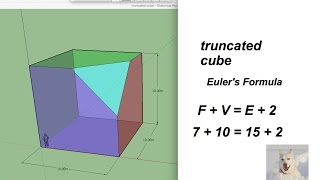 Sketchup Cube For High School Geometry