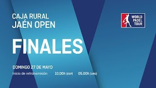 Finales - Caja Rural Jaén Open 2018 - World Padel Tour