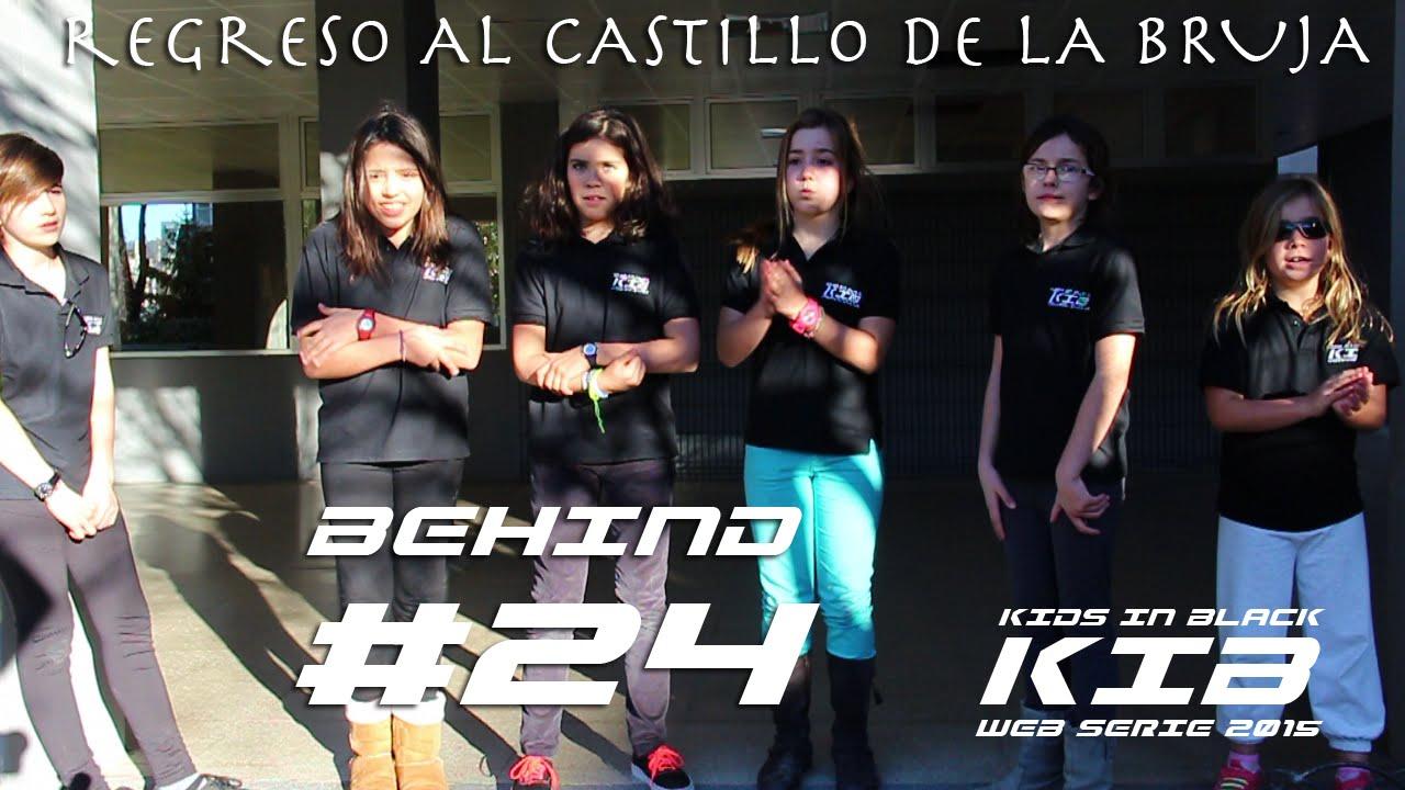 Regreso al Castillo de la Bruja - Kids In Black 2015 - Detrás de las cámaras #24