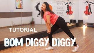 Bom Diggy -Zack Knight X Jasmin Walia | Dance Tutorial | Aditi | Dancercise