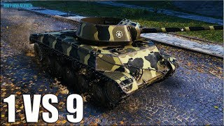 T67 против ДЕВЯТЕРЫХ World of Tanks