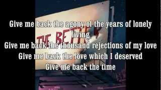 DJ Shadow Give Me Back the Nights+Lyrics HD HQ