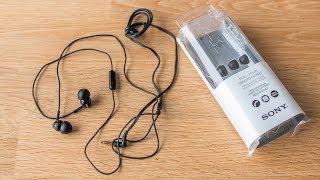 Sony MDR-EX110AP - sound demo