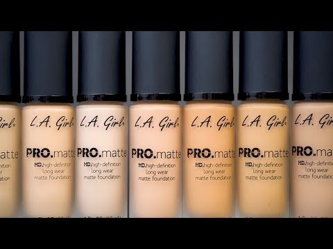 PRO Matte Foundation - video