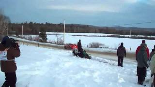 preview picture of video 'Rally Perce-Neige 2011'