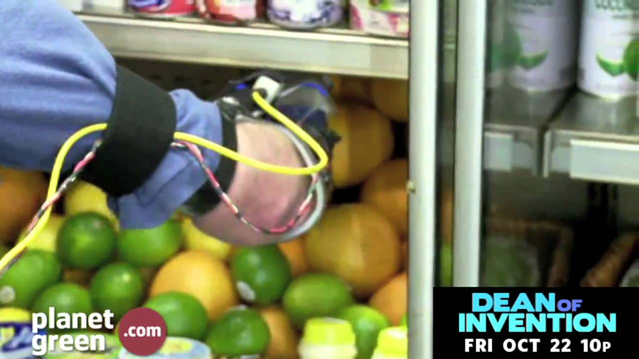 Watch Dean Kamen's Awesome Prosthetic Arm At The Supermarket