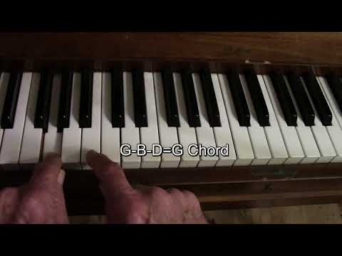 monster mash piano chord tutorial for halloween