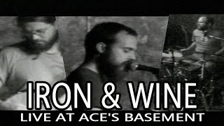 "IRON & WINE ""Someday The Waves"" Track 5 Live at Ace's Basement 2003"