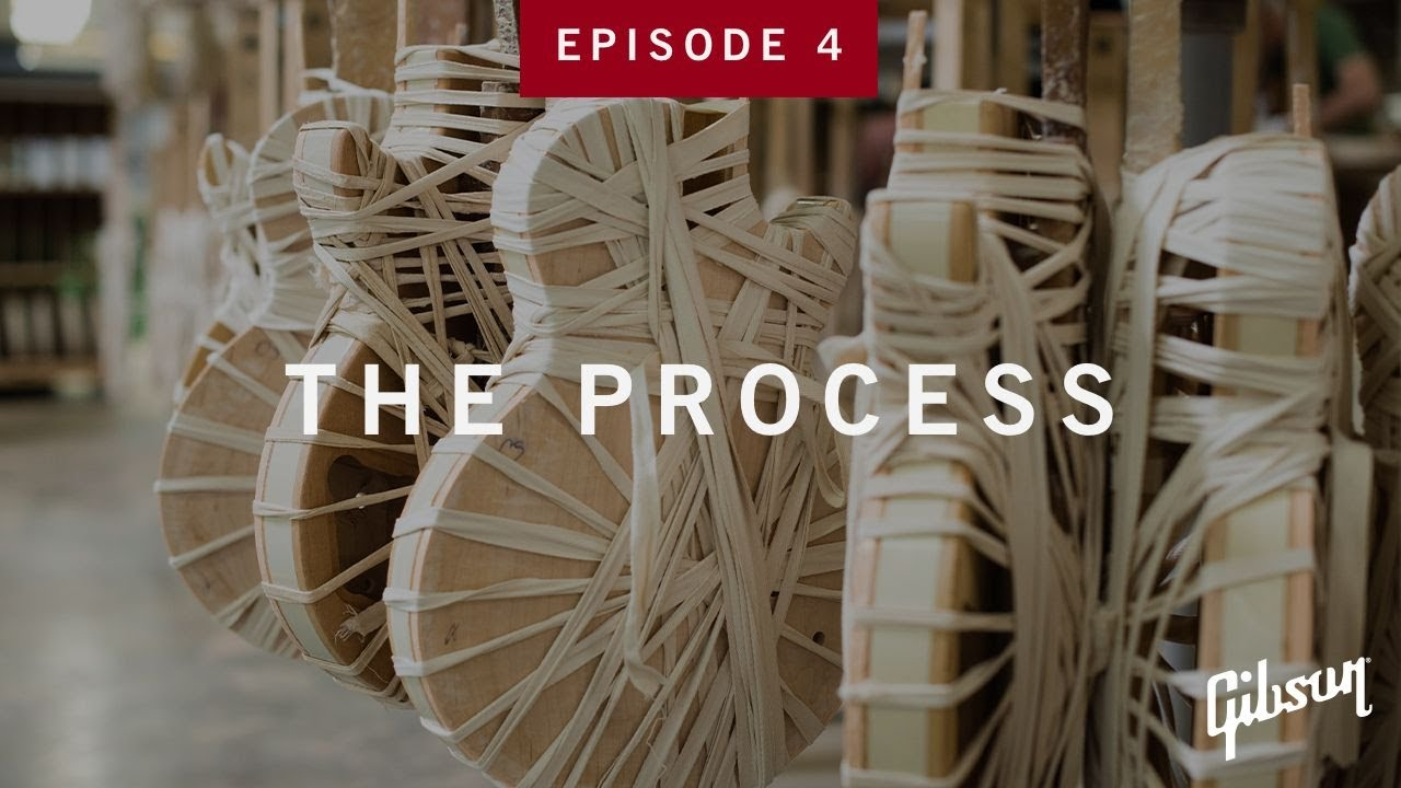 The Process: Episode 4 - Rope Binding Guitar Bodies At Gibson USA