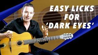 Easy Licks For Dark Eyes - Gypsy Jazz Guitar Secrets Lesson
