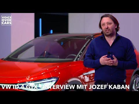 VW ID.4 GTX Interview mit Chef Designer Jozef Kaban | Voice over Cars
