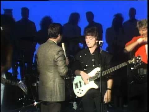 Dick Clark Interviews The Outfield - American Bandstand 1986