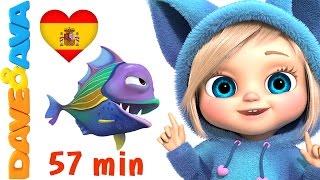 🐡 Videos Infantiles | Сanciones Infantiles en Español de Dave y Ava 🐡