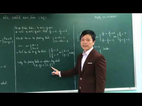 """Bài giảng  môn Toán lớp 9: """" GIẢI HỆ PHƯƠNG TRÌNH BẬC NHẤT HAI ẨN"""" thầy giáo Trần Quang Hà, trường THCS Lê Quý Đôn, TP Tuyên Quang."""