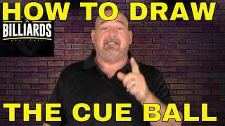 Part #1 - Secret grip for DRAW and FOLLOW (holding cue in