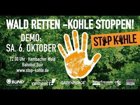 #HamBi Bleibt - Rückblick auf die Großdemonstration im Hambacher Forst vom 06.10.2018