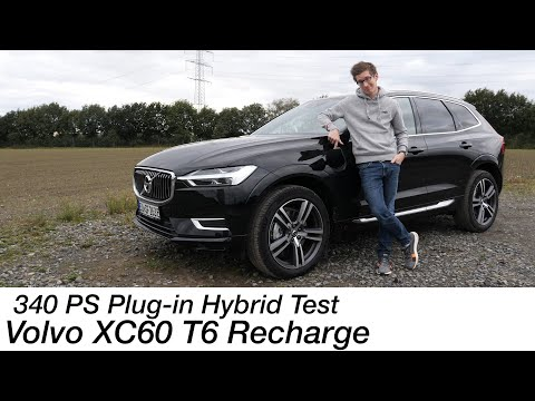 2021 Volvo XC60 T6 Recharge AWD Test: der 340 PS (590 Nm) Plug-in Hybrid [4K] - Autophorie