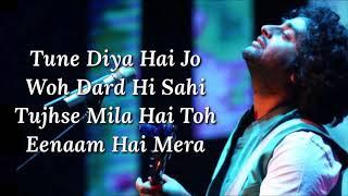Ae Dil Hai Mushkil (Title Song) Lyrics | Arijit Singh   - YouTube