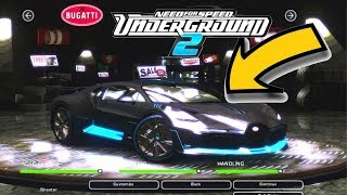 How to install extra cars on Need for speed Underground 2