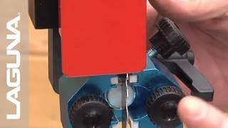 1412 Bandsaw Blade Guide Adjustments - Part 10 of 14 - Laguna Tools