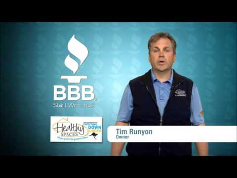 Healthy Spaces wins BBB's 2016 Business of Integrity Torch Award in Evansville, IN