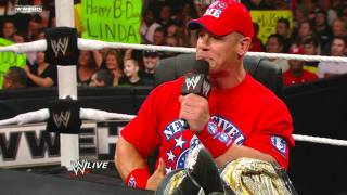 John Cena and CM Punk's Undisputed Championship Match Contract Signing