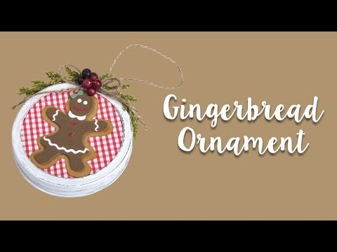 How to Make Gingerbread Ornaments!