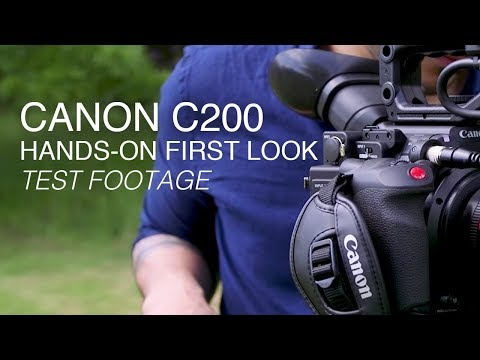 Canon C200 | Hands-on First Look