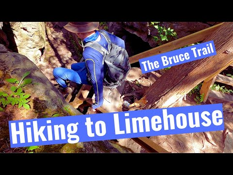 CA Hiking to Limehouse on the Bruce Trail, #3