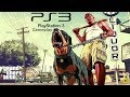 Grand Theft Auto V ps3 Gameplay hd