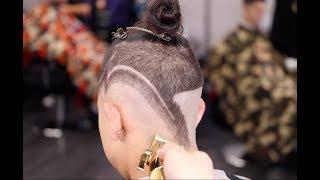 Haircut Tutorial | MID-DROP FADE | UNDERCUT