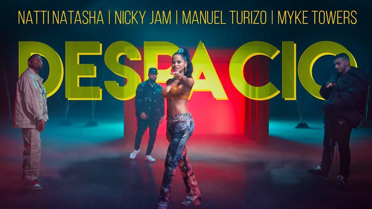 "Natti Natasha lanza ""Despacio"", junto a Nicky Jam, Manuel Turizo y Myke Towers"