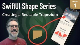 SwiftUI Shapes Live: 1 - The Trapezium