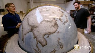 CBS How Are Globes Made : The Art Of Making Globes