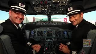 Что будет, если во время полета самолета, все пассажиры одновременно прыгнут