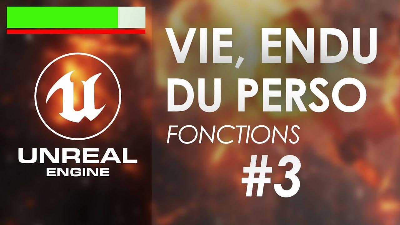 Infliger des dégâts (intro aux fonctions simples) - Tuto Unreal Engine 4 FR