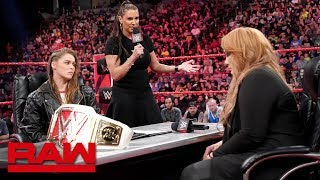 Ronda Rousey vows to take Nia Jax